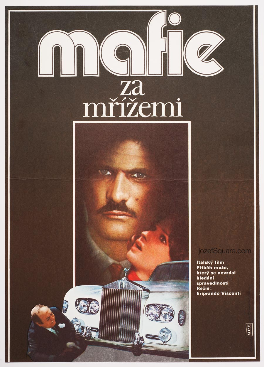 Movie Poster, Pisciotta's Case, 70s Cinema Art