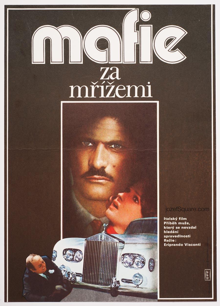 Movie Poster, Pisciotta's Case, 70s Cinema Art