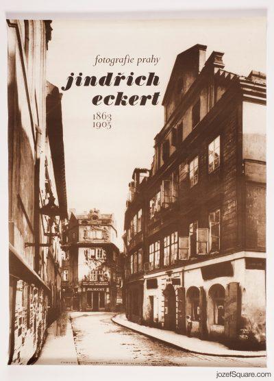 Exhibition Poster, Jindřich Eckert 1863 - 1905
