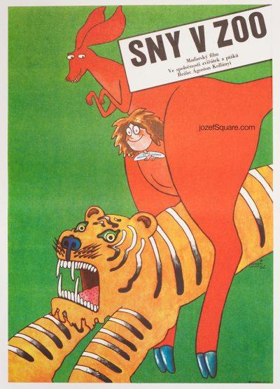Movie Poster, Dreams of the Zoo, Vratislav Hlavaty