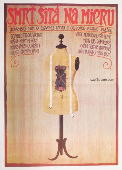 Movie Poster, Death Made to Measure, Jan Meisner