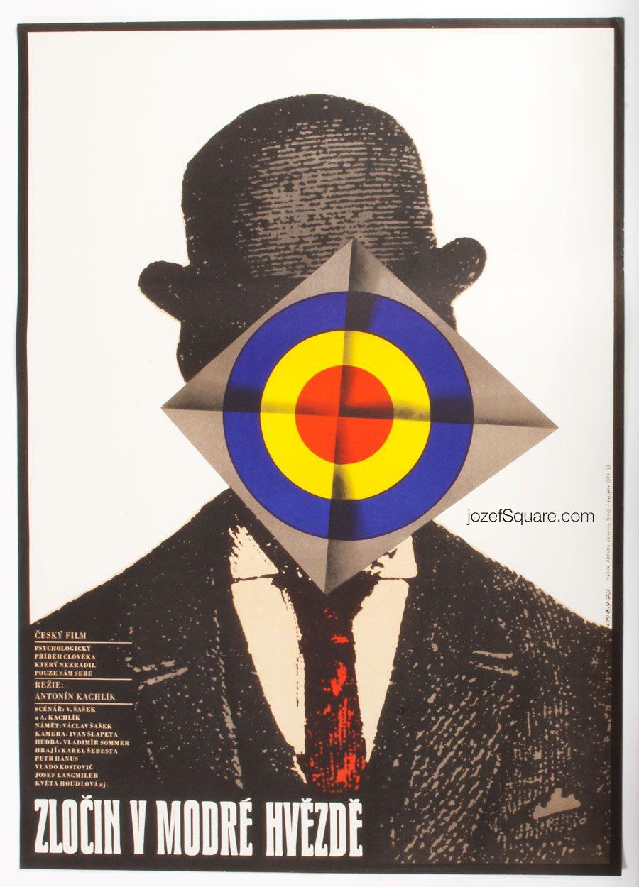 Movie Poster, Crime at the Blue Star, Karel Vaca