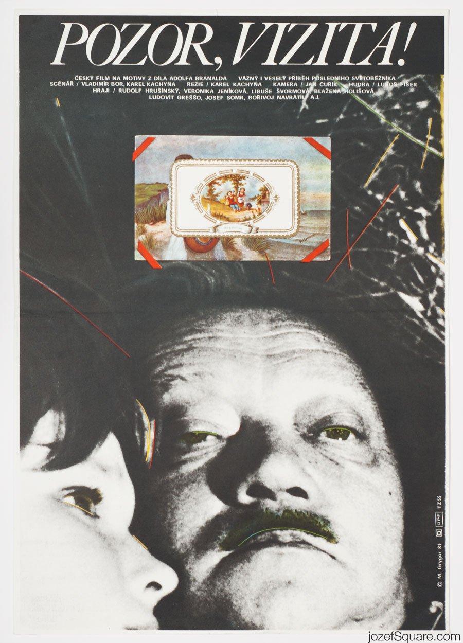 Movie Poster, Look out, Ward Round, Milan Grygar