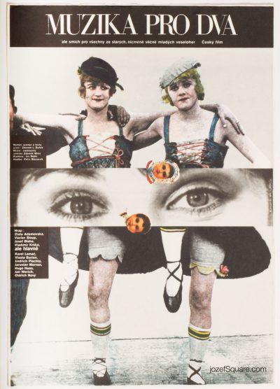 Movie Poster, Music for Two, Milan Grygar