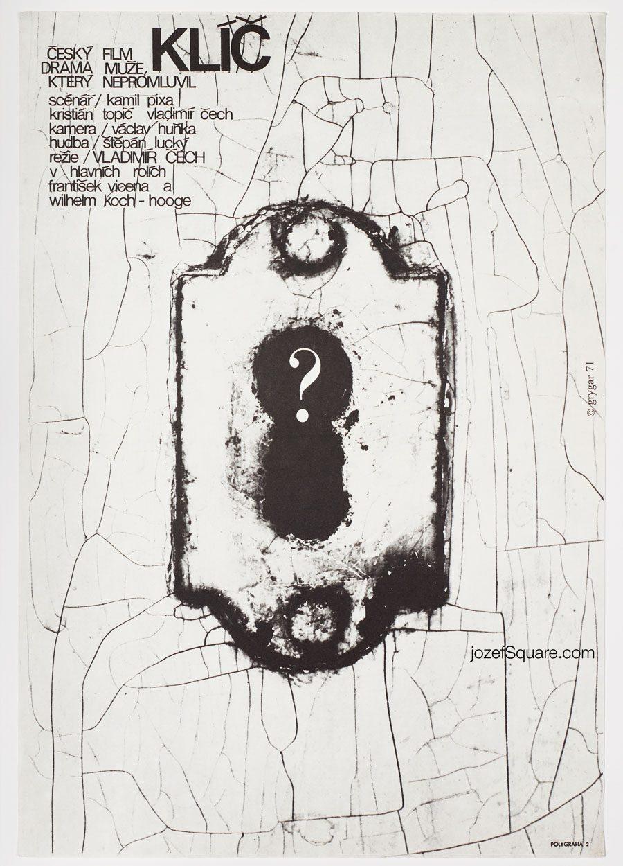 Movie Poster, The Key, Milan Grygar