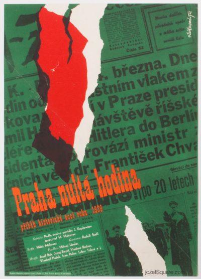 Movie Poster, Prague at Zero Hour, Jaroslav Milovansky