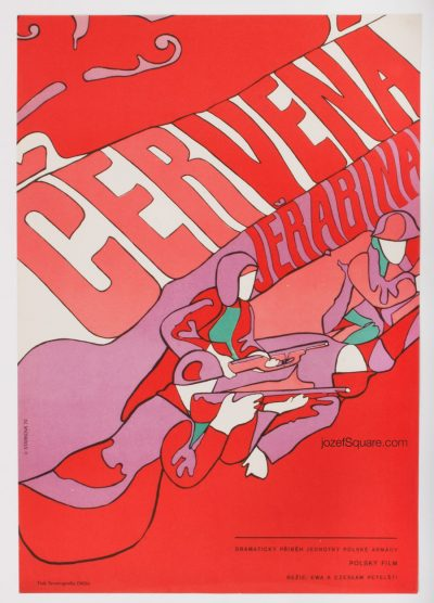 Movie Poster, Red Rowan, Olga Starkova