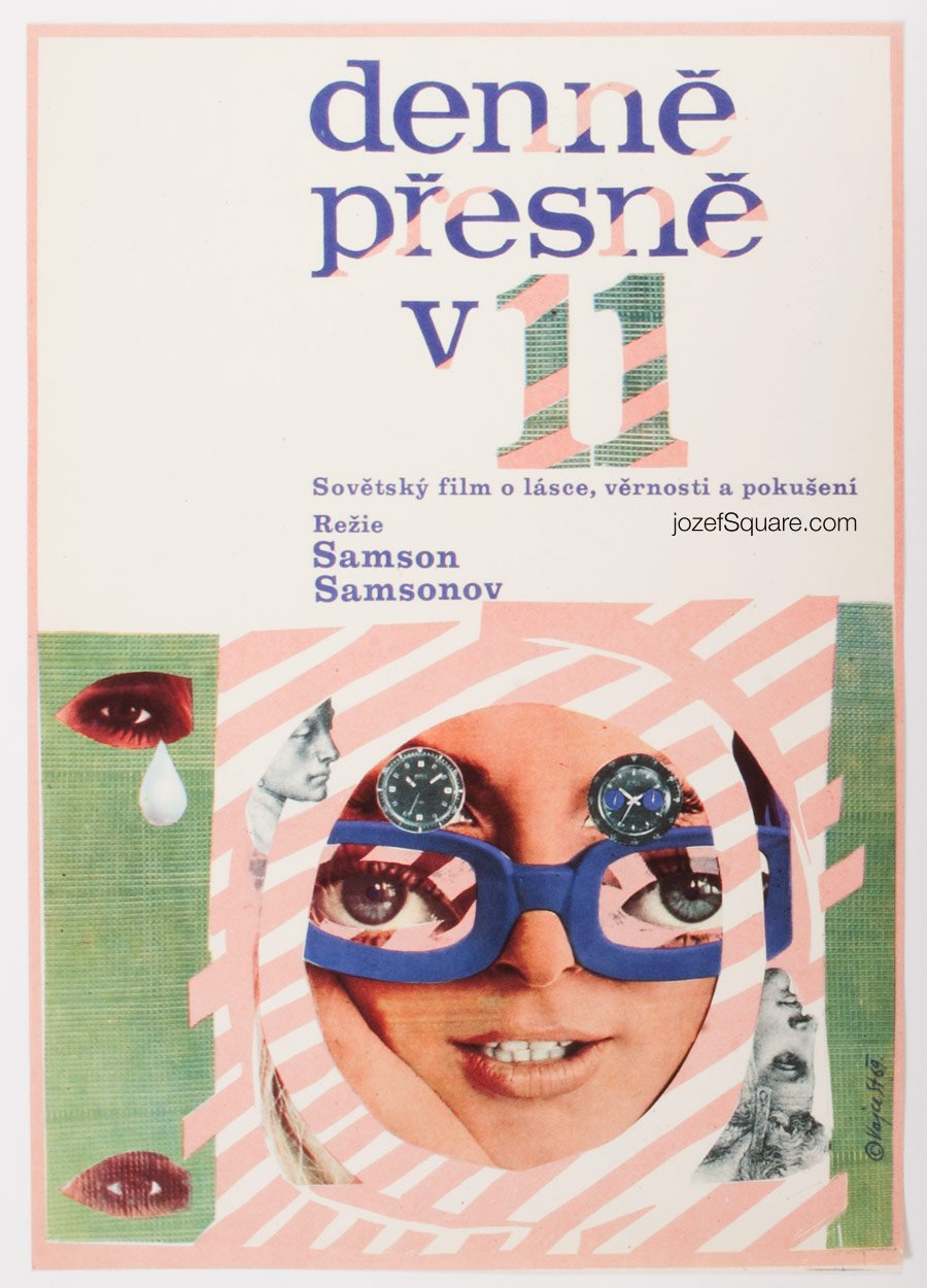 Movie Poster, Each Evening at Eleven, Stanislav Vajce