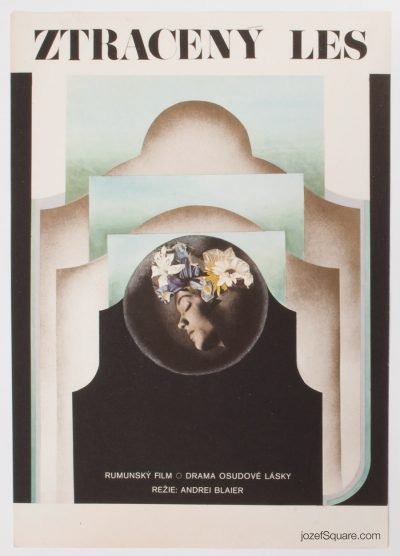 Movie Poster, The Lost Forest, 70s Cinema Art