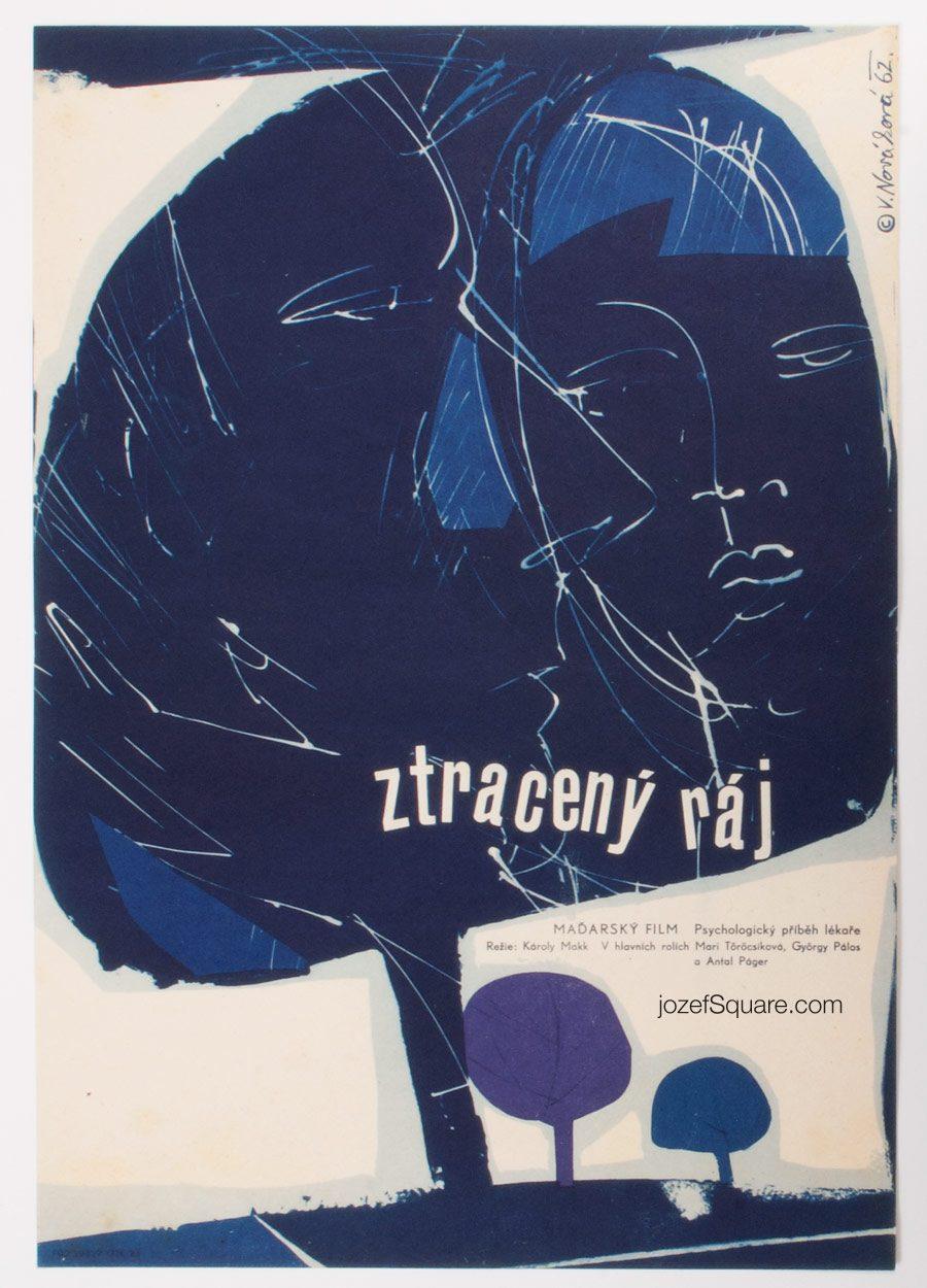 Movie Poster, The Lost Paradise, Vera Novakova