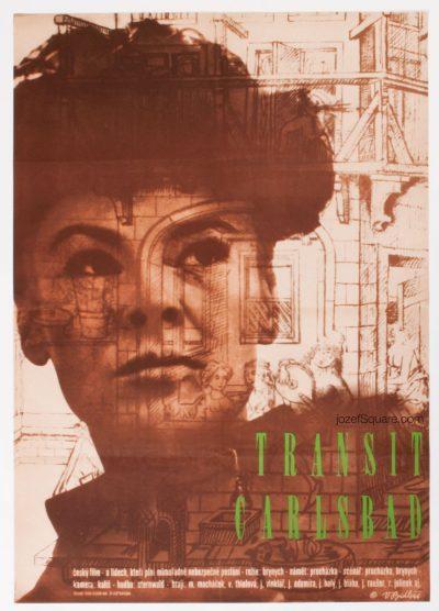 Movie Poster, Transit Carlsbad, Vladimir Bidlo