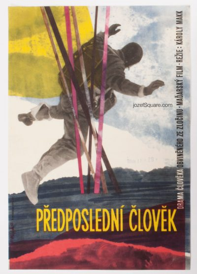 Movie Poster, The Last But One, Vladimir Vaclav Palecek