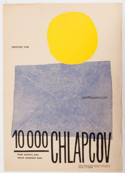 Movie Poster, 10 000 Boys, Zdenek Palcr