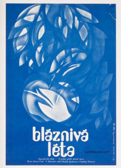 Movie Poster, Foolish Years, Dimitrij Kadrnozka