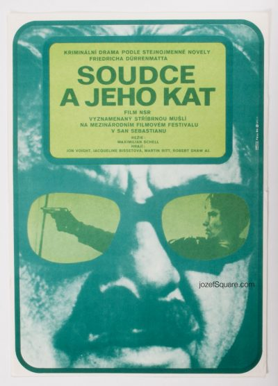 Movie Poster, Murder on the Bridge, Dobroslav Foll