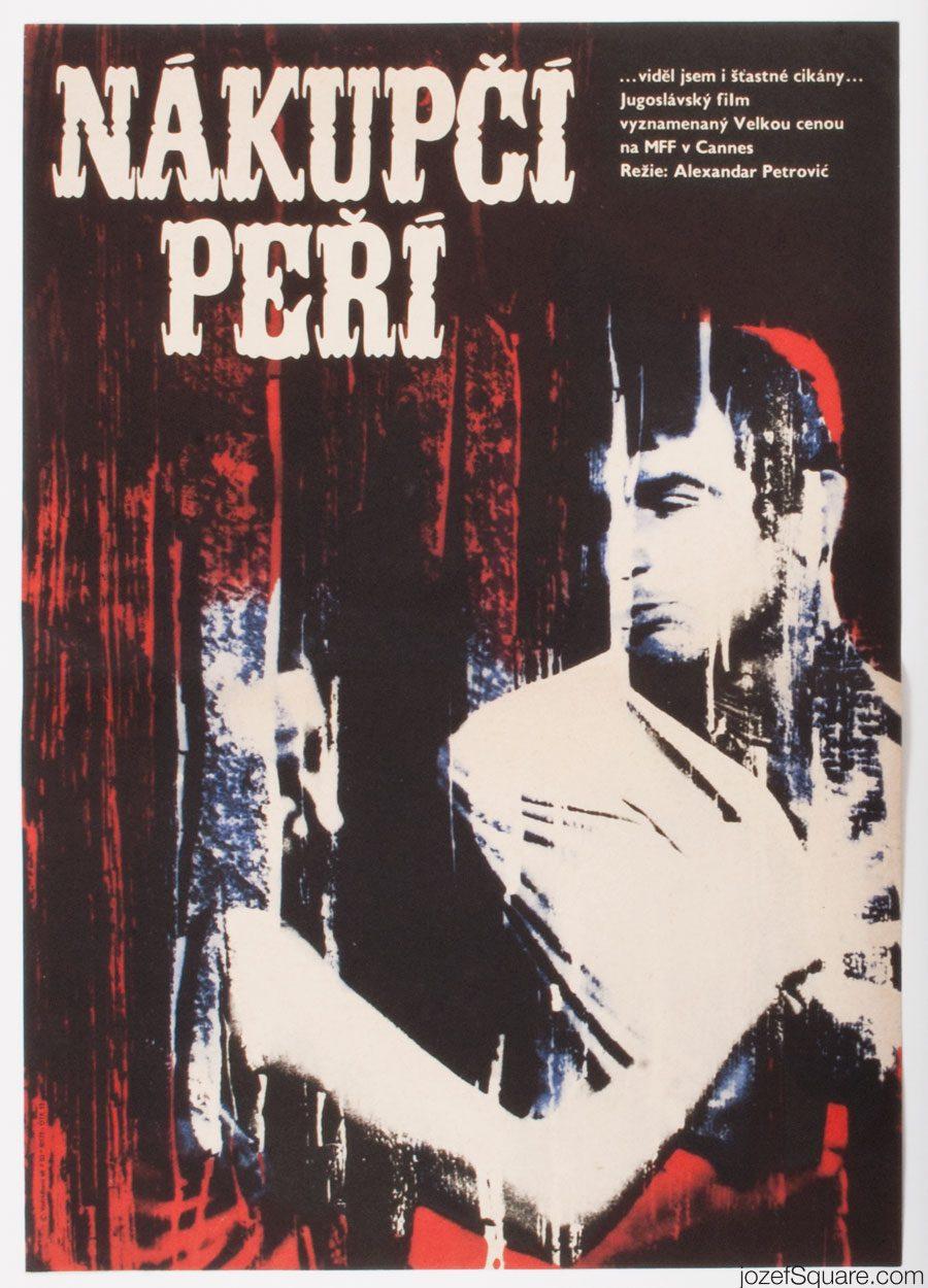 Movie Poster, I Even Met Happy Gypsies, Eva Galova-Vodrazkova