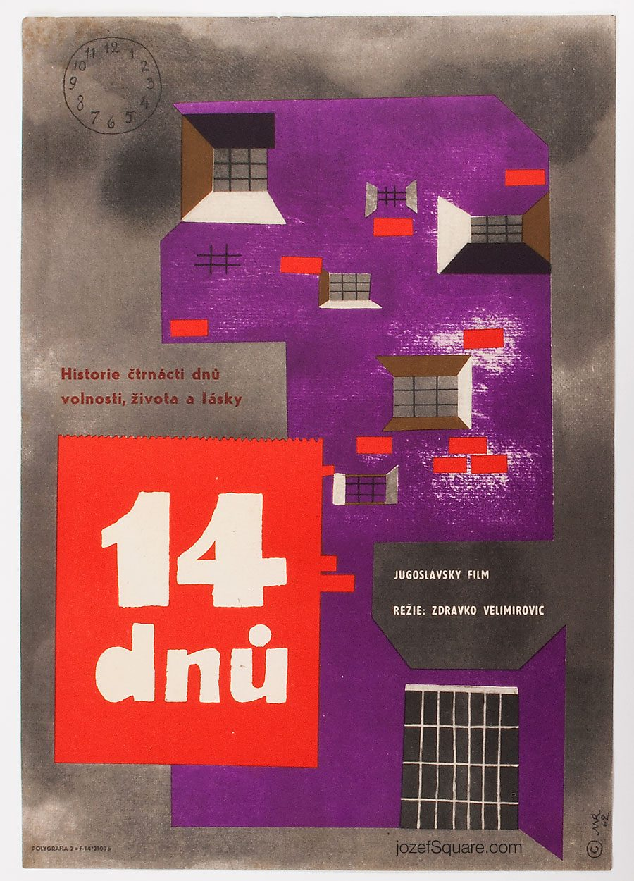 Movie Poster, The Fourteenth Day, Michael Romberg