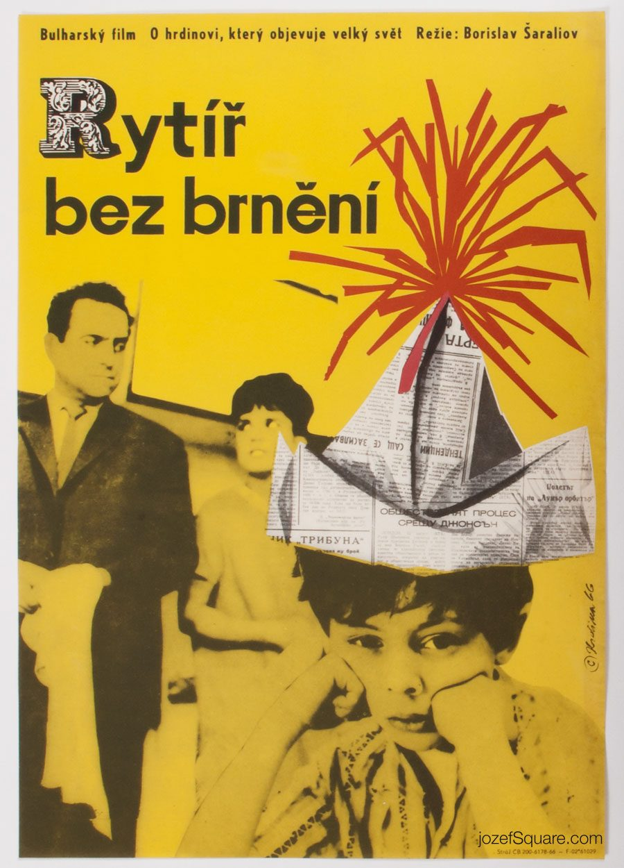 Movie Poster, Knight Without Armour, Miroslav Hrdina