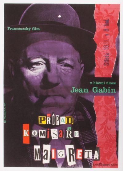 Movie Poster, Maigret and the St. Fiacre Case, Richard Fremund