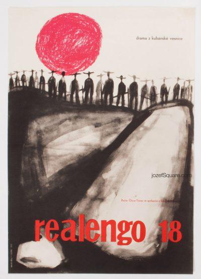 Movie Poster, Realengo 18, 60s Cinema Art