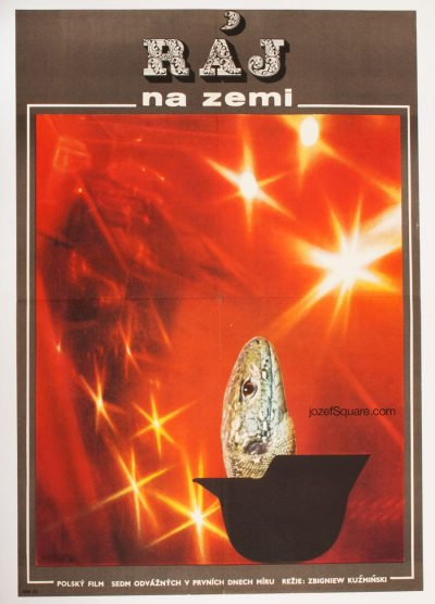 Movie Poster, Heaven on Earth, Vladimir Vaclav Palecek