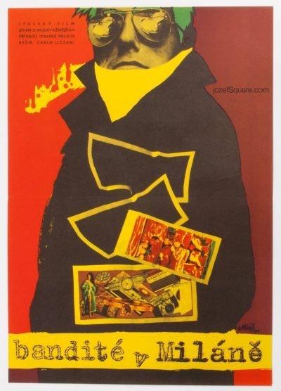 Movie Poster, The Violent Four, Vladimir Vaclav Palecek