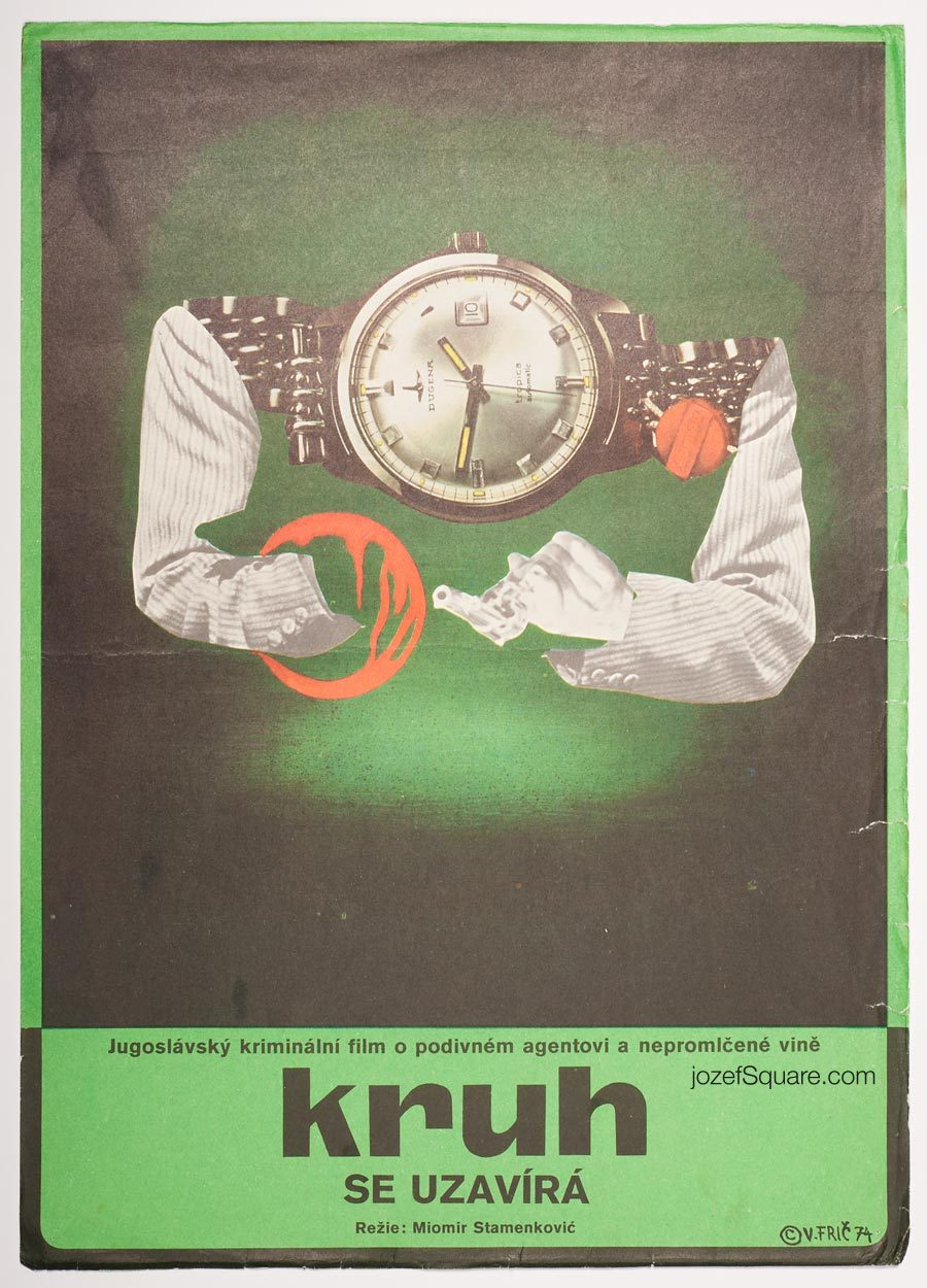 Movie Poster, The Security Service Closes in, Vojmir Fric
