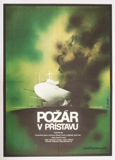 Movie Poster, Fateful Sunday, Zdenek Vlach