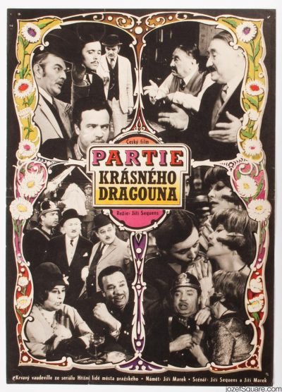 Movie Poster, The Game of Beautiful Dragoon, Zdenek Ziegler