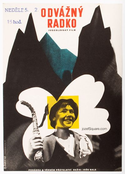 Movie Poster, Mountain of Fear, Bretislav Sebek