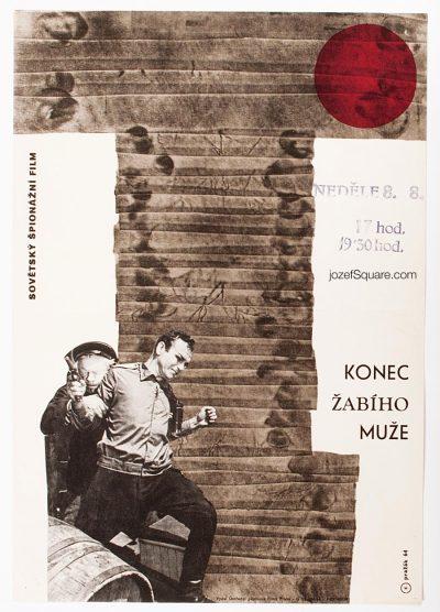 Movie Poster, The End of a Frogman, Cenek Prazak