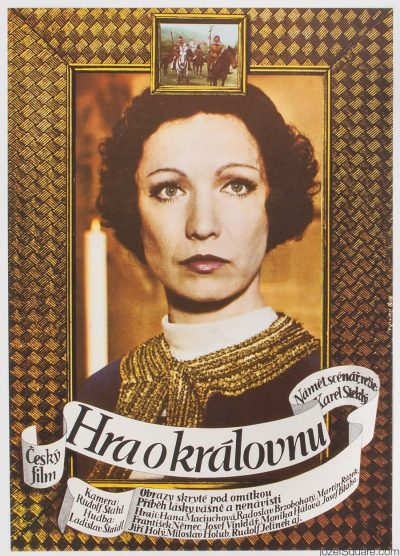 Movie Poster, Playing for the Queen, Dobroslav Foll