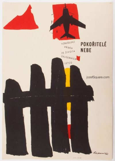 Movie Poster, They Conquer the Skies, Jan Helebrant