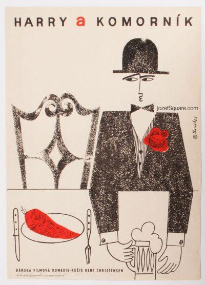 Movie Poster, Harry and the Butler, Jaroslav Slovak