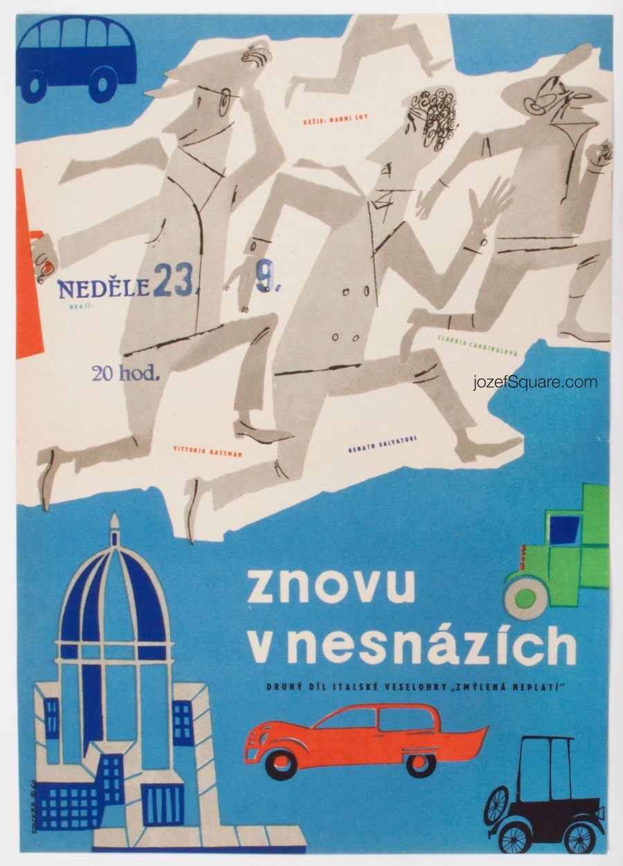 Movie Poster, Fiasco in Milan, Marcel Stecker