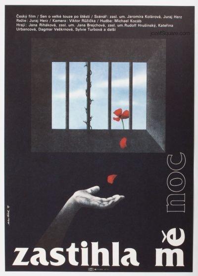 Movie Poster, The Night Overtake Me, Milan Pecak