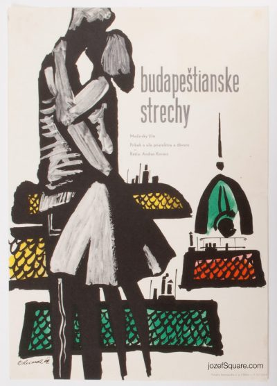 Movie Poster, On the Roofs of Budapest, Milos Reindl