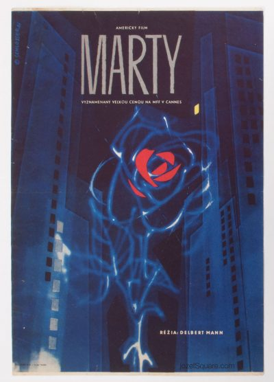 Movie Poster, Marty, W.A. Schlosser