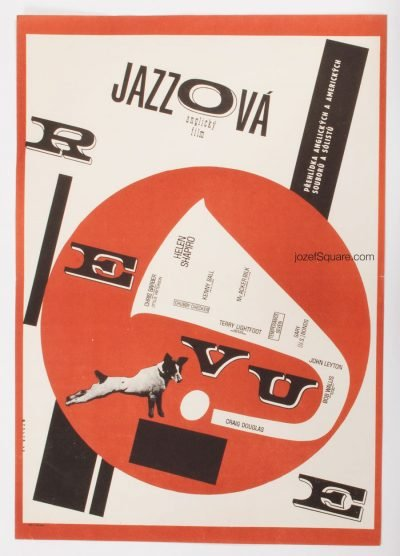 Movie Poster, The Sound of Jazz, Zdenek Palcr