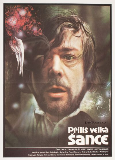 Movie Poster, Too Big a Chance, Zdenek Vlach
