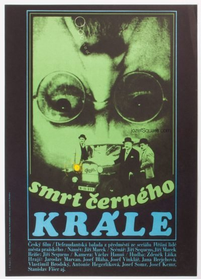 Movie Poster, Death of Black King, Zdenek Ziegler