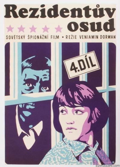 Movie Poster, Secret Agent's Destiny, Ales Krejca