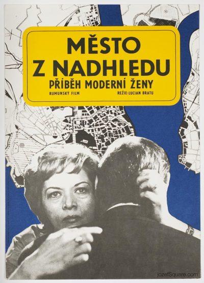 Movie Poster, City Seen from Above, Dobroslav Foll