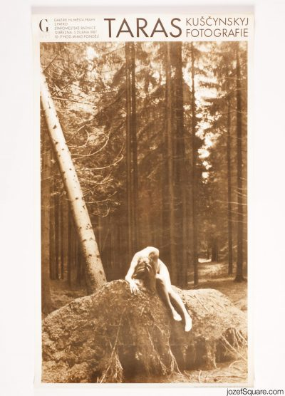 Exhibition Poster, Taras Kuscynskyj Photographs