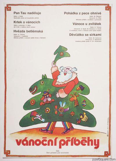 Movie Poster, Christmas Tales, Jan Tomanek
