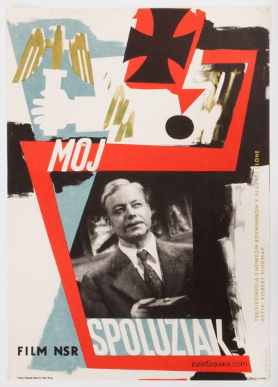 Movie Poster, My School Chum, Jiri Karel Novak