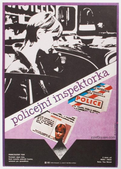 Movie Poster , Woman Cop, Michal Hendrych