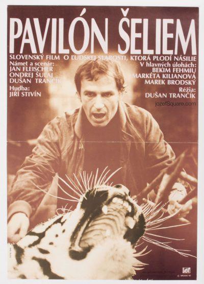 Movie Poster, The Wild Cats House, Miroslav Brocko