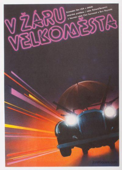 Movie Poster, City Heat, Unknown Artist