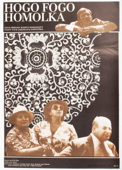 Movie Poster, Hogo Fogo Homolka, Unknown Artist
